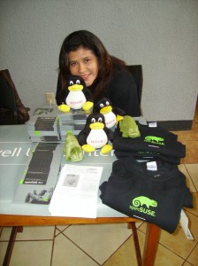 My wife Sonia. Yeah, she loves the Penguin too!