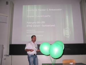 openSUSE project presentation