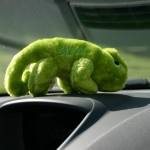 Geeko in its new car