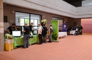 the openSUSE Booth at oSC12