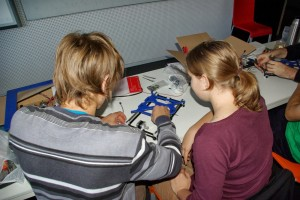 building a 3D printer at Linuxdays 2013