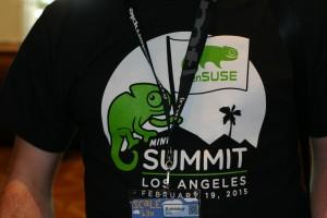 openSUSE miniSummit T-shirt
