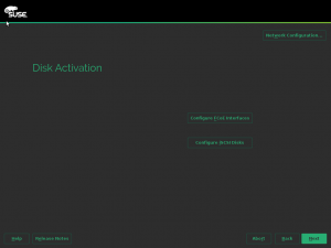 Disk Activation