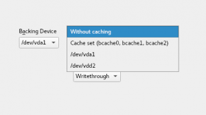 No caching device in Bcache