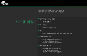 SLES installer in Korean